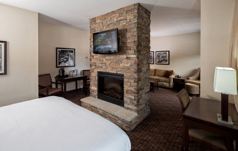 Holiday Inn Resort Deadwood Mountain Grand-We offer 8 luxury suites with fireplace and outdoor patio.<br/>Image from Leonardo
