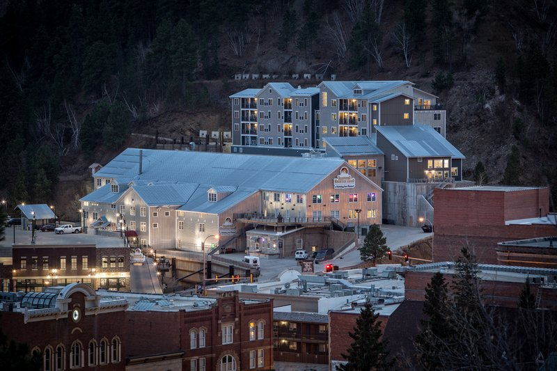 Holiday Inn Resort Deadwood Mountain Grand-Our modern, yet historic property from historic downtown Deadwood.<br/>Image from Leonardo