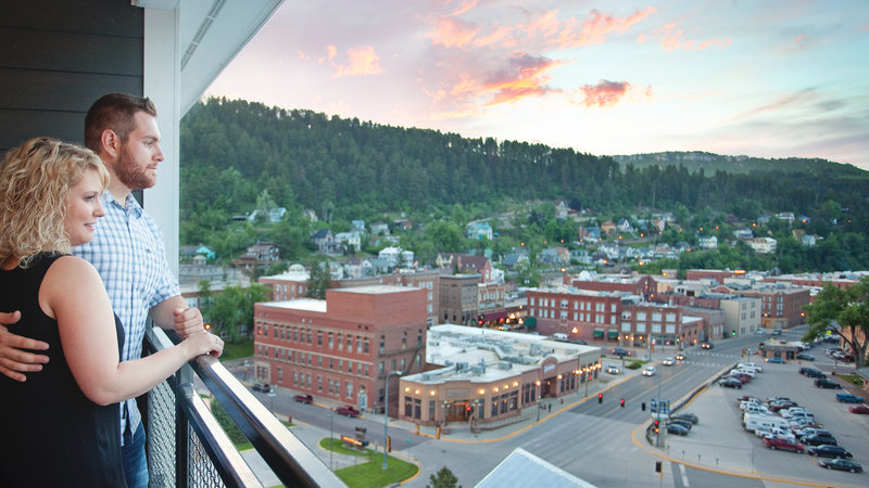 Holiday Inn Resort Deadwood Mountain Grand-Stunning views of the Black Hills and downtown historic Deadwood!<br/>Image from Leonardo