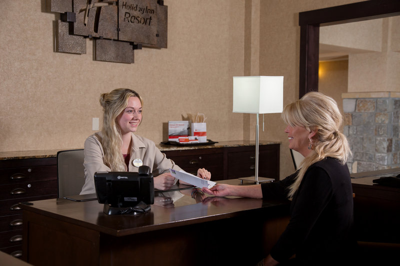 Holiday Inn Resort Deadwood Mountain Grand-Our friendly front desk staff is ready to greet you.<br/>Image from Leonardo