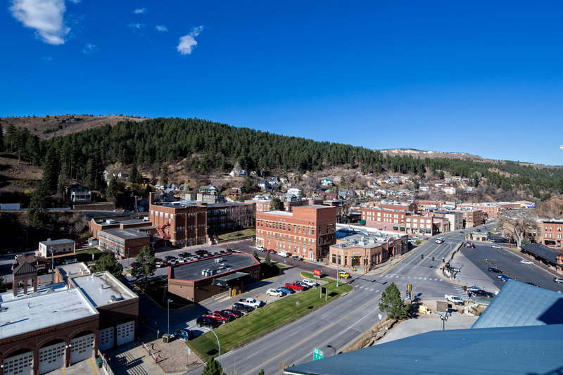 Holiday Inn Resort Deadwood Mountain Grand-Breathtaking views of historic downtown Deadwood.<br/>Image from Leonardo