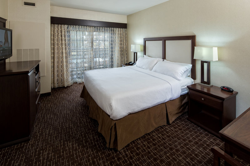 Holiday Inn Resort Deadwood Mountain Grand-Our standard room with king bed offer plenty of room and luxury.<br/>Image from Leonardo