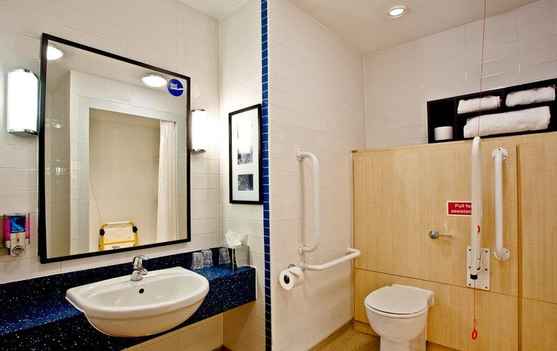 Holiday Inn Express Shrewsbury-Accessible ADA/Accessible Guest Bath<br/>Image from Leonardo