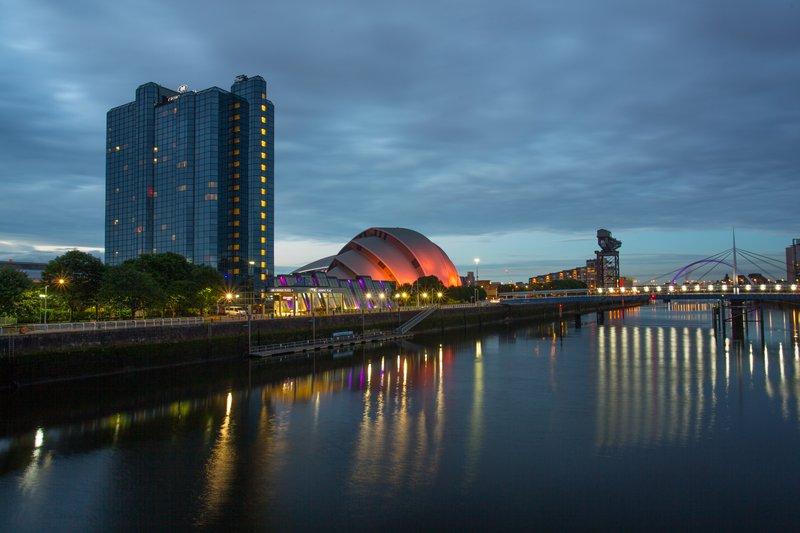 Crowne Plaza Glasgow-Hotel Exterior<br/>Image from Leonardo