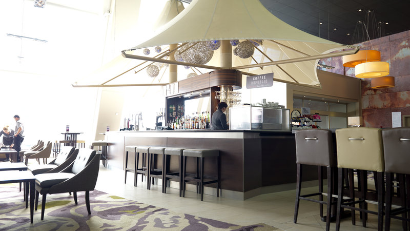 Crowne Plaza Glasgow-Guest Dining Lounge<br/>Image from Leonardo