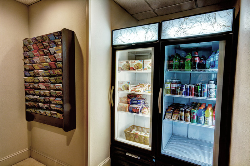 Holiday Inn Express & Suites Tampa-I-75 @ Bruce B. Downs-Vending<br/>Image from Leonardo