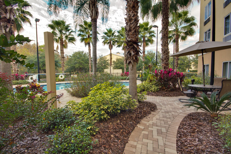 Holiday Inn Express & Suites Tampa-I-75 @ Bruce B. Downs-Guest Patio<br/>Image from Leonardo