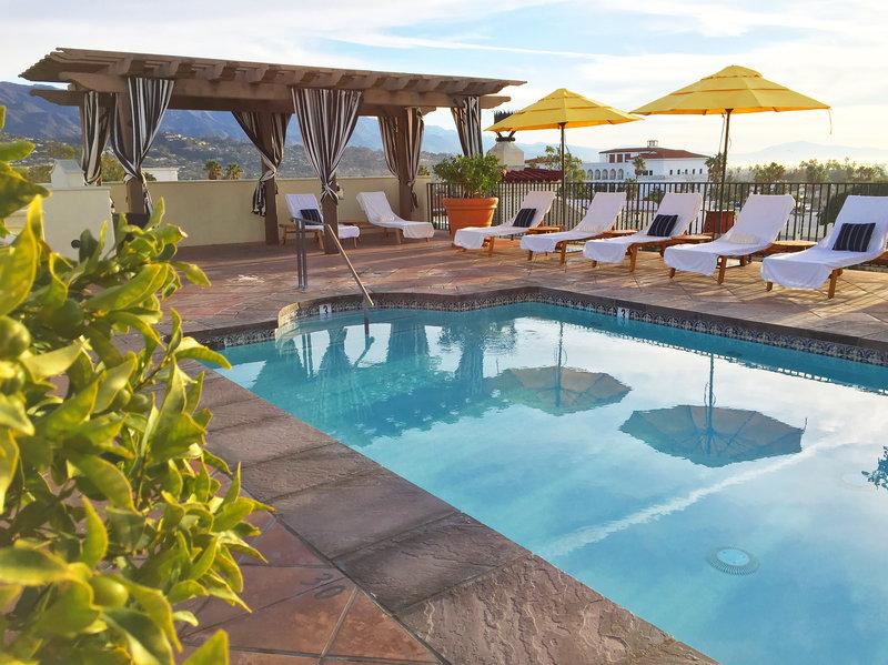 Canary Hotel Santa Barbara - A Kimpton Hotel-Rooftop Pool<br/>Image from Leonardo