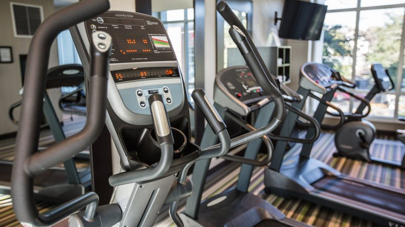 Holiday Inn Charleston Historic Downtown-State of the art cardio equipment in our fitness center<br/>Image from Leonardo