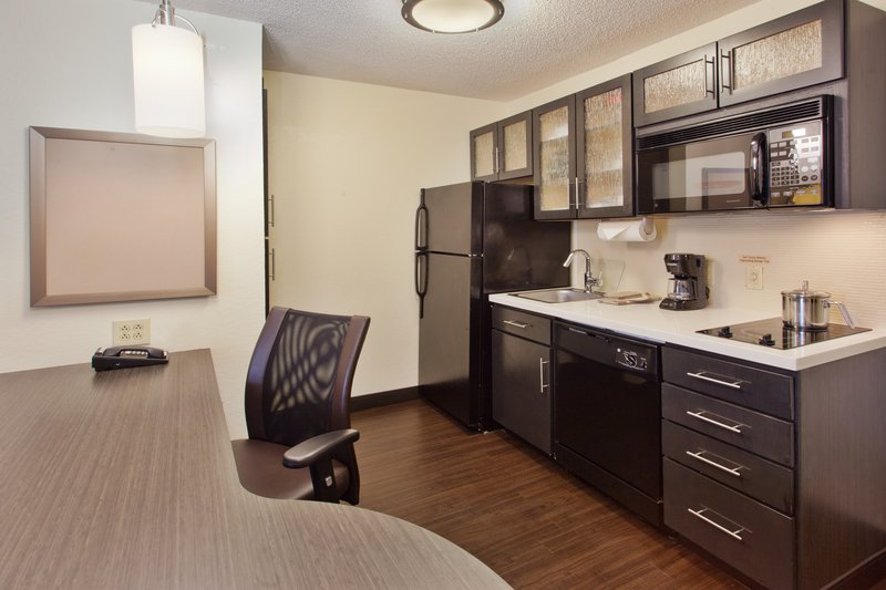 Candlewood Suites Jersey City-Our one bedroom kitchen suites has good work space!<br/>Image from Leonardo