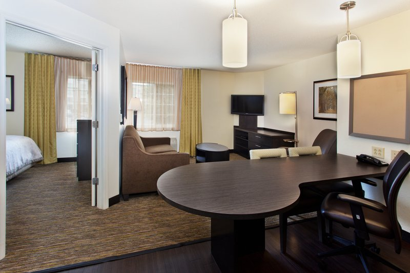 Candlewood Suites Jersey City-Our one bedroom suites feature a pull out sleeper sofa!<br/>Image from Leonardo