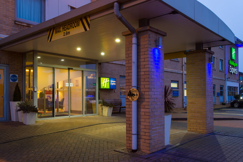 Holiday Inn Express East Midlands Airport-Our modern hotel has 90 bedrooms and four meeting rooms<br/>Image from Leonardo