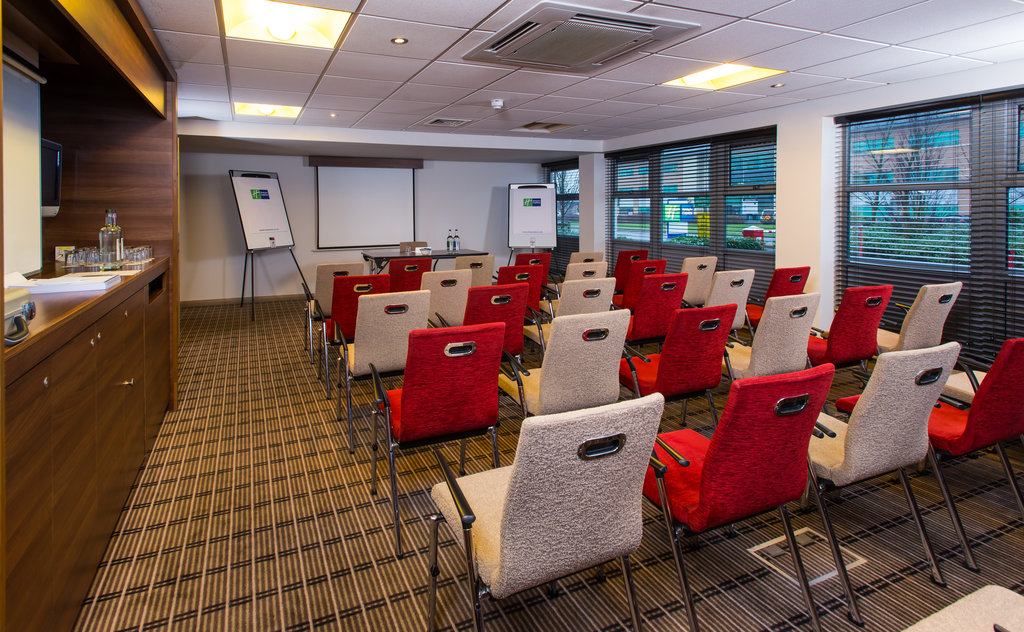 Holiday Inn Express East Midlands Airport-Enquire today about our great value day delegate rates available<br/>Image from Leonardo