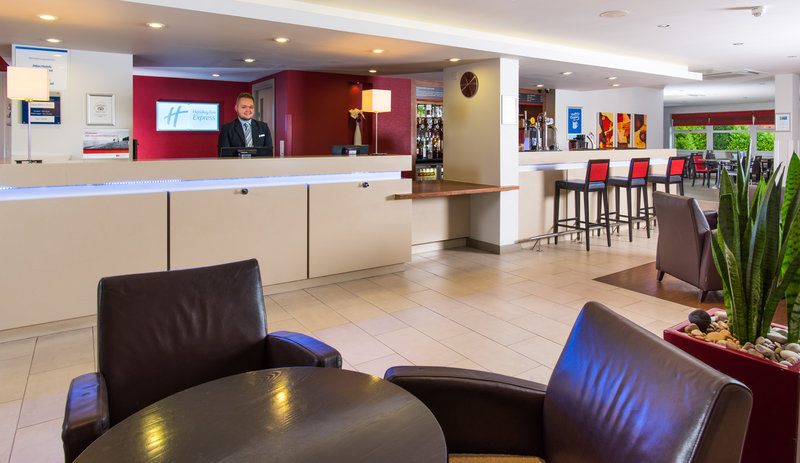 Holiday Inn Express East Midlands Airport-Our helpful Reception team are on hand 24/7 for your convenience<br/>Image from Leonardo