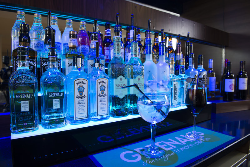 Holiday Inn Express East Midlands Airport-There's plenty to pick from at the bar<br/>Image from Leonardo