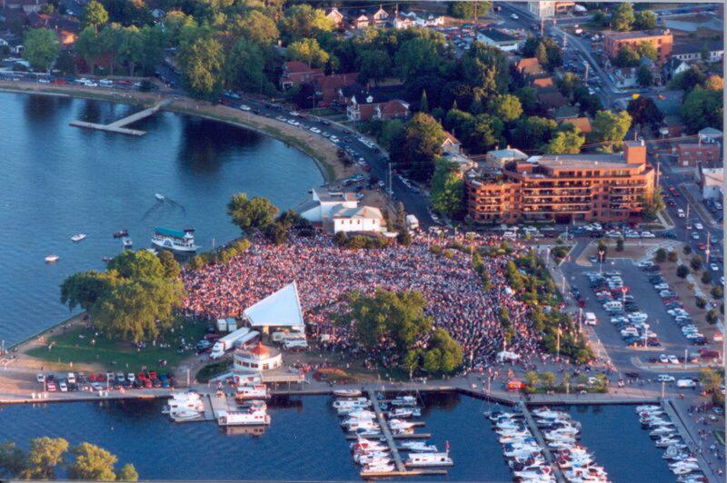 Holiday Inn Peterborough-Waterfront-Little Lake Musicfest<br/>Image from Leonardo