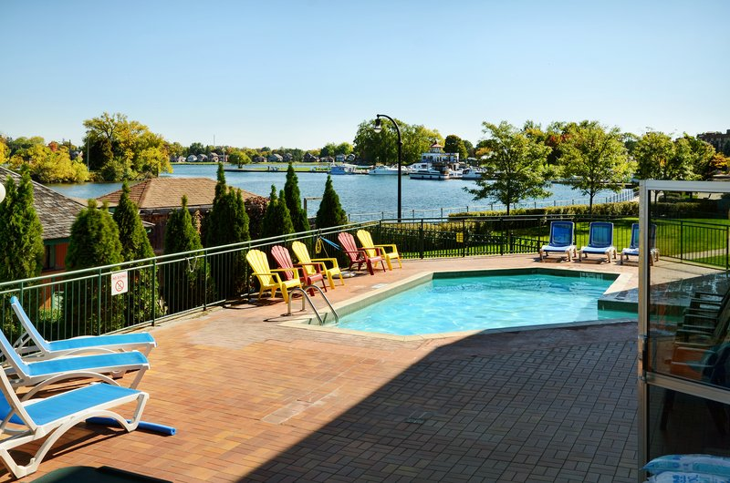Holiday Inn Peterborough-Waterfront-Outdoor Portion of Pool with Otonabee River view<br/>Image from Leonardo