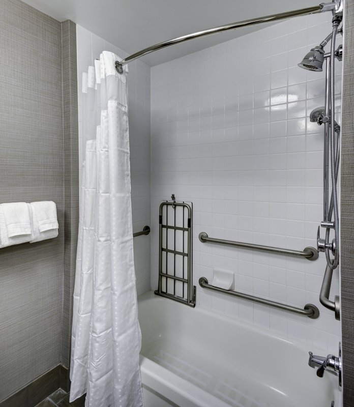 Holiday Inn Savannah Historic District-Grab bars and accessible vanities to make your stay comfortable<br/>Image from Leonardo