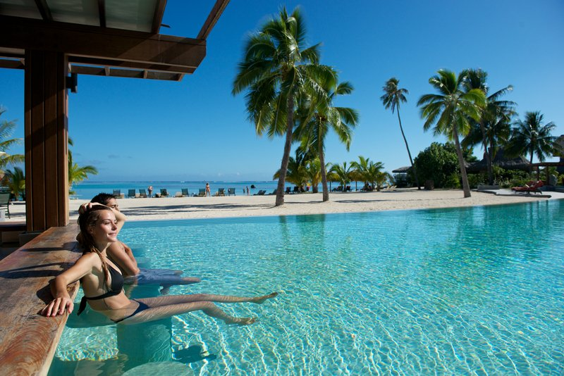 Sofitel Moorea Ia Ora Beach Resort-Motu One Swim-Up Bar<br/>Image from Leonardo