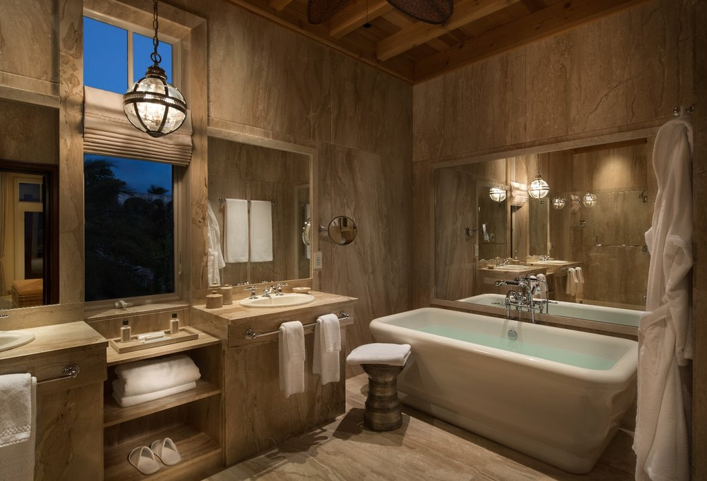 Malliouhana An Auberge Resort Anguilla-Luxury Premium Suite Bathroom<br/>Image from Leonardo