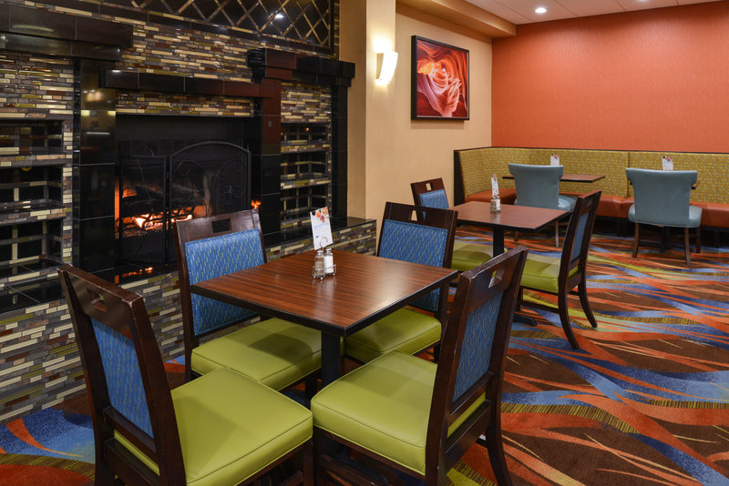 Holiday Inn Express Flagstaff-Keep warm by the fire<br/>Image from Leonardo