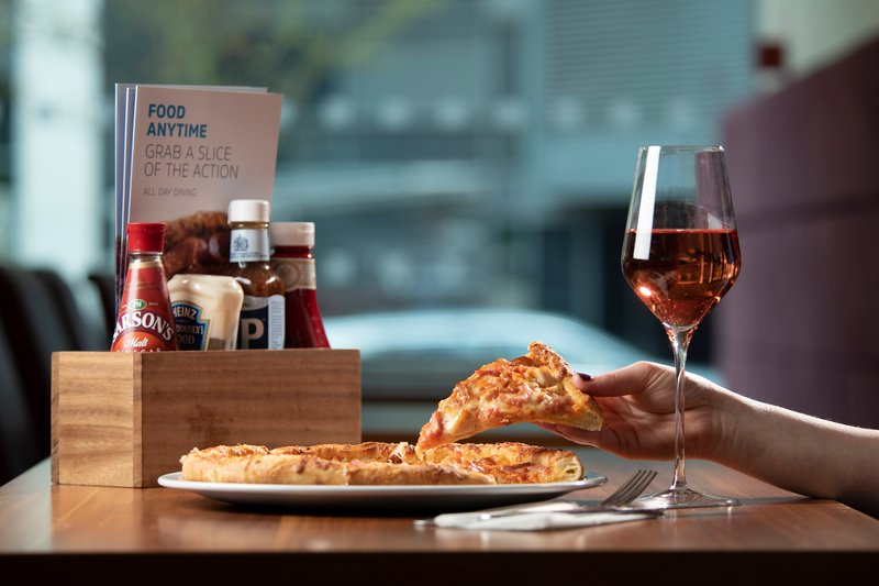 Holiday Inn Express East Midlands Airport-Enjoy a midnight pizza with our 24/7 pizza menu!<br/>Image from Leonardo
