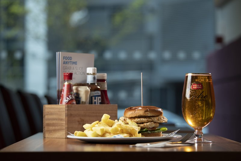 Holiday Inn Express East Midlands Airport-Enjoy delicious meals from our dinner menu!<br/>Image from Leonardo