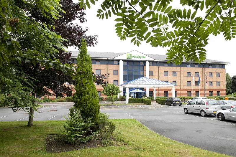 Holiday Inn Warrington-Front of hotel seen fron the  car park.<br/>Image from Leonardo