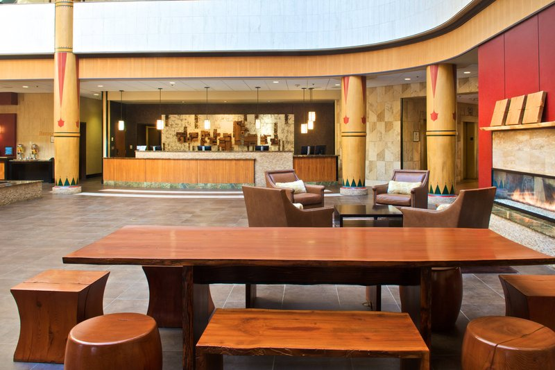 Sheraton Anchorage Hotel & Spa-Lobby Seating Area<br/>Image from Leonardo