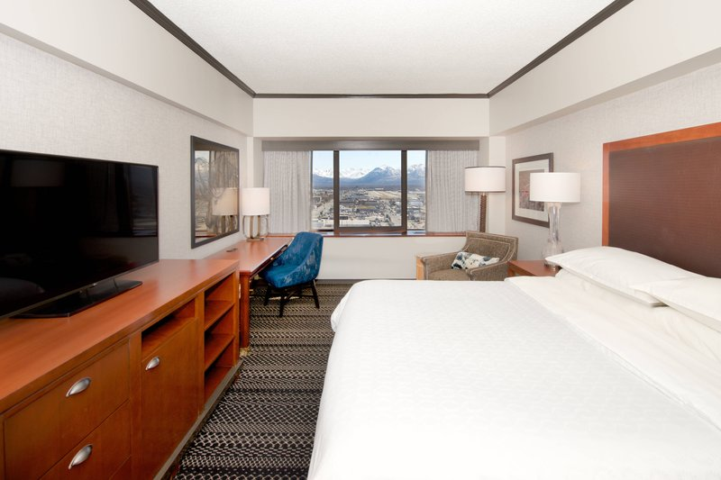 Sheraton Anchorage Hotel & Spa-King Guest Room<br/>Image from Leonardo