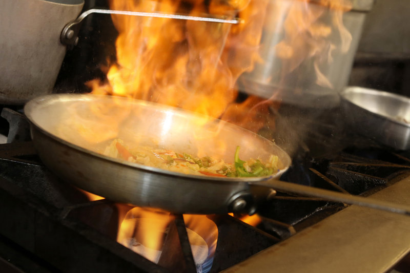 Crowne Plaza Syracuse-Redfield's Chef must be making something HOT in the kitchen.<br/>Image from Leonardo