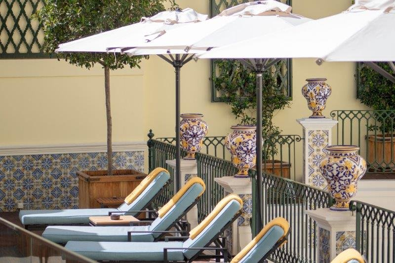 Hotel Infante Sagres-Terrace by the Plunge Pool<br/>Image from Leonardo