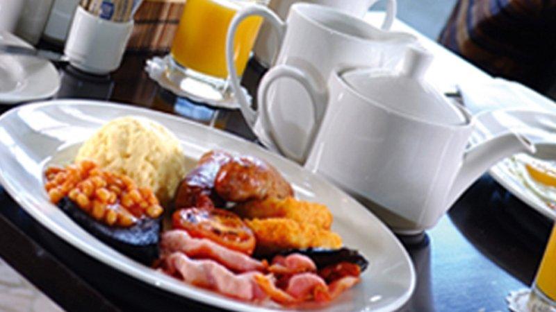 Holiday Inn Hemel Hempstead M1, Jct. 8-Full English Breakfast every morning.<br/>Image from Leonardo