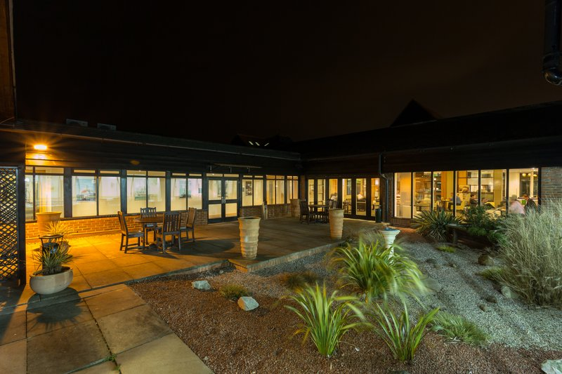 Holiday Inn Cambridge-Enjoy the evening breeze on our Bar Courtyard<br/>Image from Leonardo