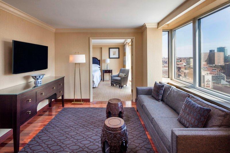 Sheraton LaGuardia East Hotel-Suite Living Area<br/>Image from Leonardo