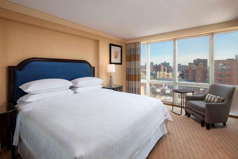 Sheraton LaGuardia East Hotel-Suite - Bedroom<br/>Image from Leonardo