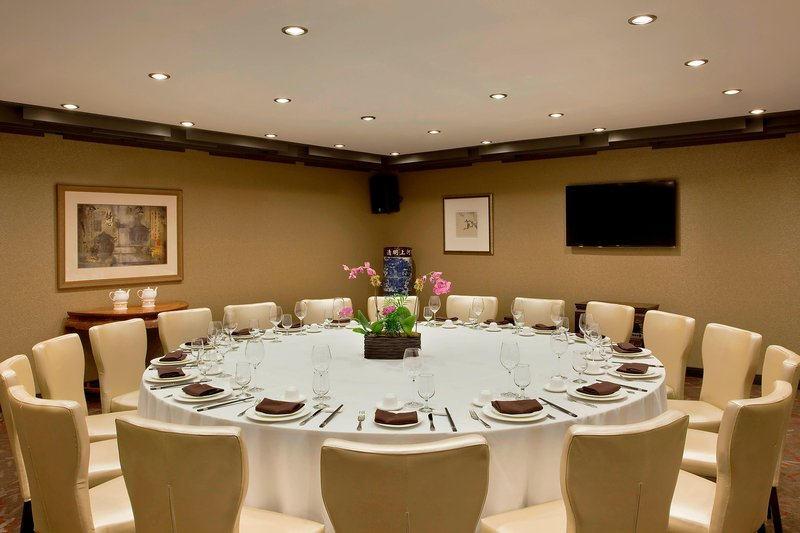 SHERATON LAGUARDIA EAST HOTEL-The Sheraton Restaurant - Private Dining Room<br/>Image from Leonardo