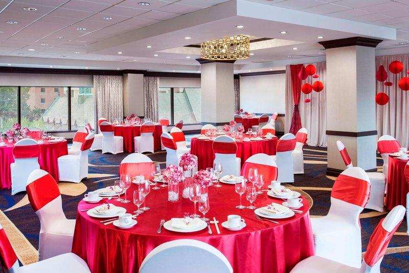 Sheraton LaGuardia East Hotel-Gallery Ballroom - Wedding Reception<br/>Image from Leonardo
