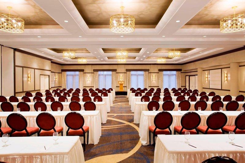 Sheraton LaGuardia East Hotel-Phoenix Ballroom - Conference Setup<br/>Image from Leonardo