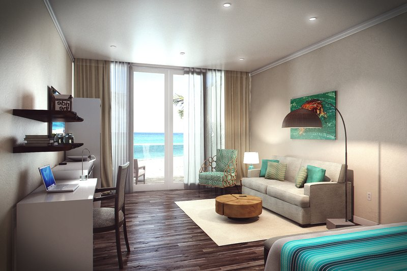 Sea Breeze Beach House - Luxury Collection Living Room <br/>Image from Leonardo