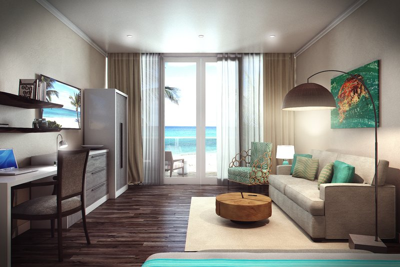 Sea Breeze Beach House - Luxury Collection Room View <br/>Image from Leonardo