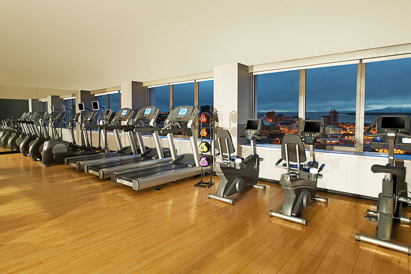 Sheraton Anchorage Hotel & Spa-Fitness Center<br/>Image from Leonardo