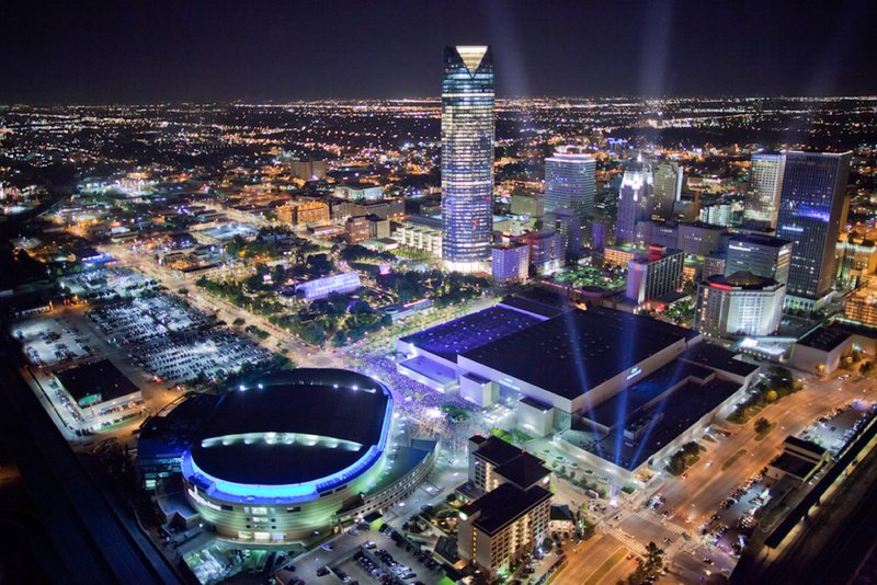 Holiday Inn Express & Suites Oklahoma City Downtown-Area Attractions<br/>Image from Leonardo