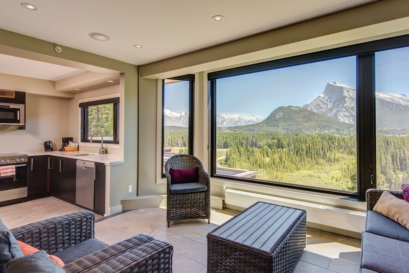 Juniper Hotel & Bistro-3 Bedroom Suite Sunroom Kitchen With Rundle<br/>Image from Leonardo