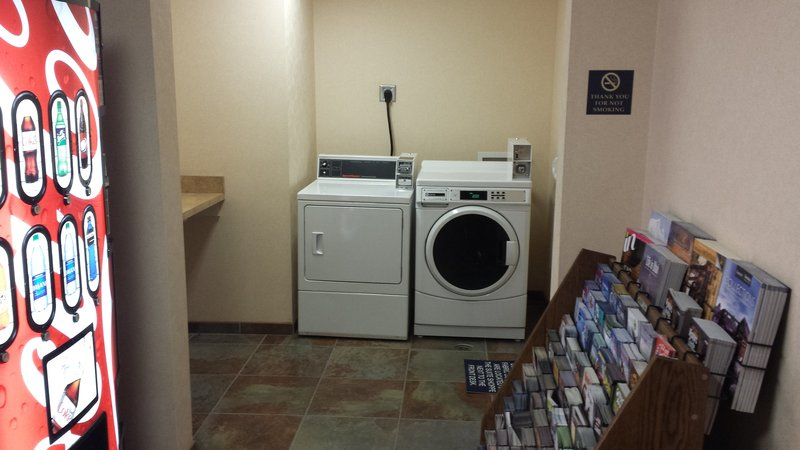 Holiday Inn Express & Suites Salt Lake City - Airport East-Guest Laundry Facility at our Salt Lake City Hotel<br/>Image from Leonardo