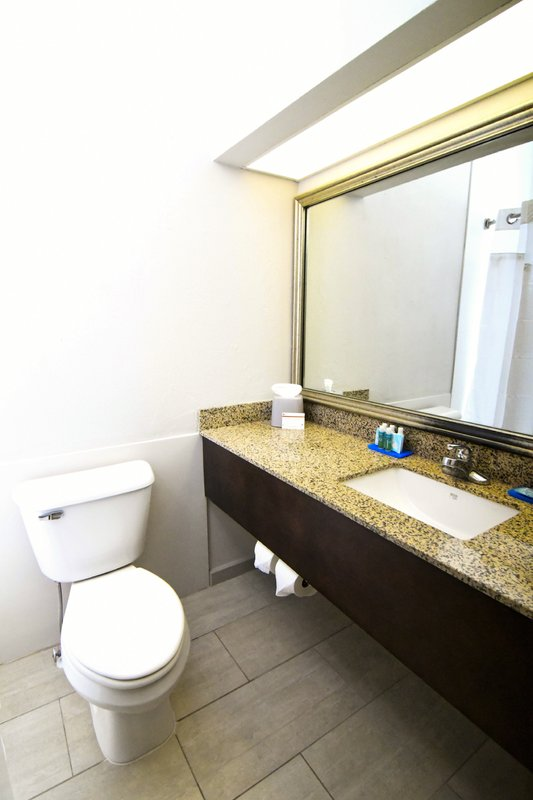 Holiday Inn Express & Suites Port Clinton - Catawba Island-Guest Bathroom<br/>Image from Leonardo