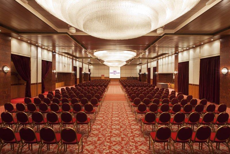 Crowne Plaza Geneva-Meeting Room Plenary Style<br/>Image from Leonardo