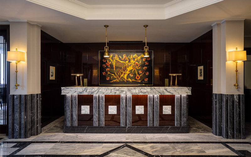 Maison Albar Le Monumental Palace-Reception Desk<br/>Image from Leonardo