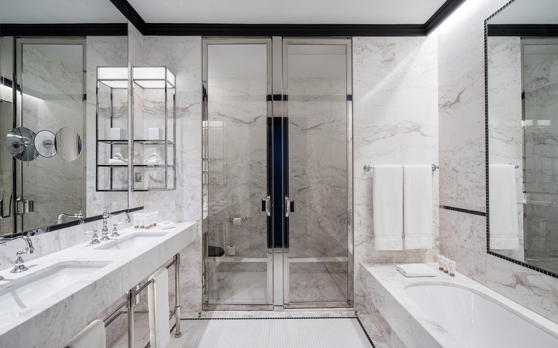 Maison Albar Le Monumental Palace-Suite Monumentale Bathroom<br/>Image from Leonardo
