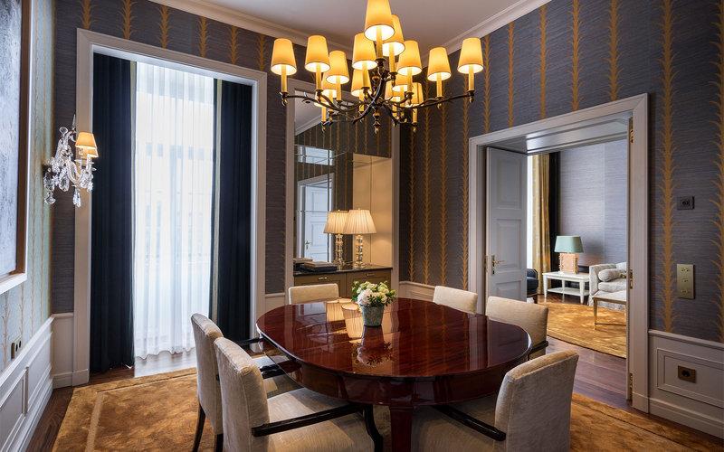 Maison Albar Le Monumental Palace-Suite Monumentale Dining Room<br/>Image from Leonardo